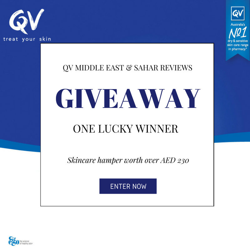 Giveaway | QV Skincare Hamper ~ Sahar Reviews
